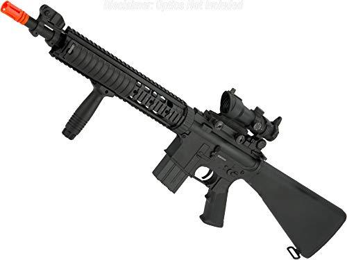 Evike  1 Evike Airsoft - A&K Mk12 SPR Airsoft AEG Sniper Rifle (Model: SPR Mod 1)