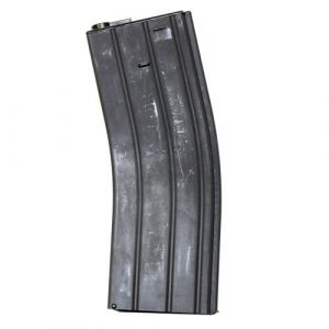 LONEX Airsoft Gun Magazine 1 LONEX Airsoft M4 M16 Scar Metal Black Flash Magazine MAG 360RDS ASG Pull Cord