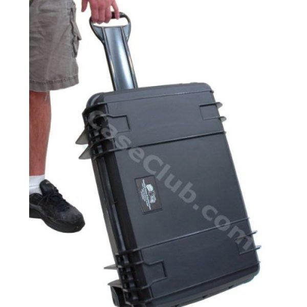 Case Club Pistol Case 6 Case Club 8 Pistol Pre-Cut Waterproof Case with 2 Silica Gel Canisters to Help Prevent Gun Rust
