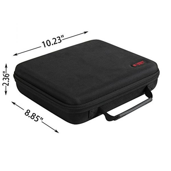 Hermitshell Pistol Case 7 Hermitshell case fits Pistol Case Up to 8.5-Inch Revolver Barrel