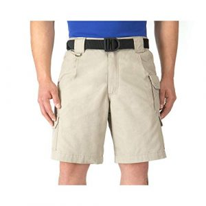 5.11 5.11 Tactical Shorts 1 5.11 Tactical Men's 9-Inch Work Shorts, Cotton Canvas Fabric, Action Waistband, 7 Pockets, Style 73285