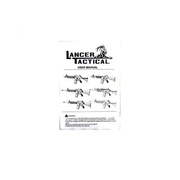 Lancer Tactical Airsoft Rifle 5 Lancer Tactical LT-04B SOPMOD M4 AEG Metal Gear (Black LT-04B)