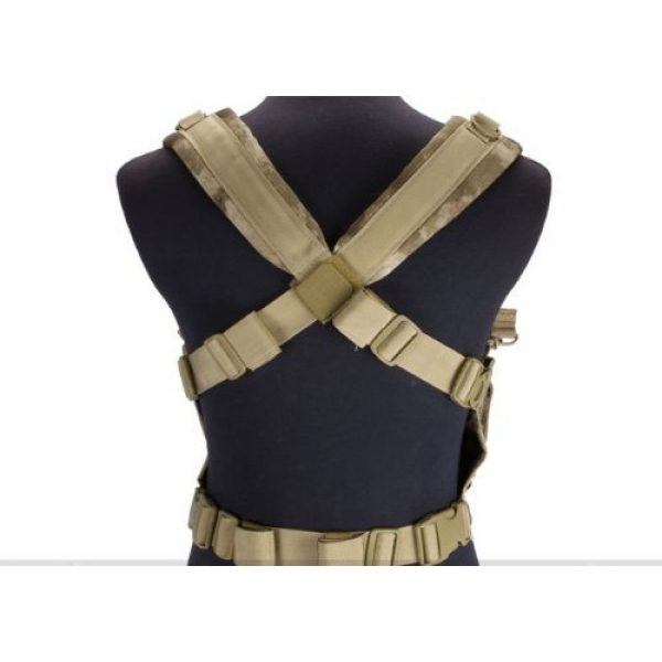 enmu pancho Airsoft Tactical Vest 2 Condor Gen 5 Tactical MOLLE Recon Chest Rig for Airsoft Gaming- A-TACS