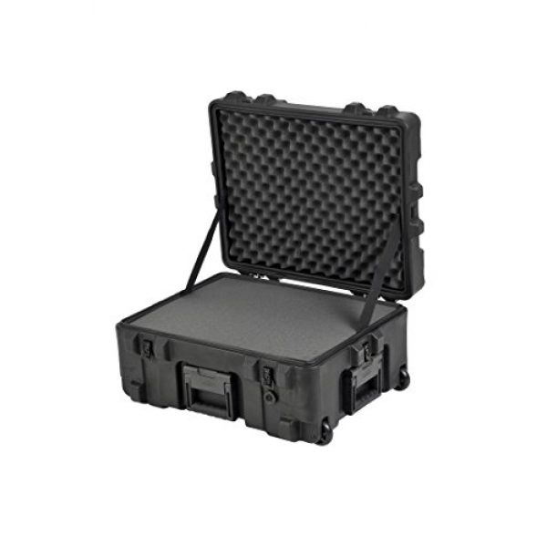 "SKB Pistol Case 2 SKB Equipment Case 22"" X 17"" X 10 1/2"" - Foam & Wheels"