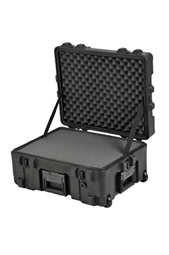 "SKB Pistol Case 2 SKB Equipment Case 22"" X 17"" X 10 1/2"" - Foam & Wheels"