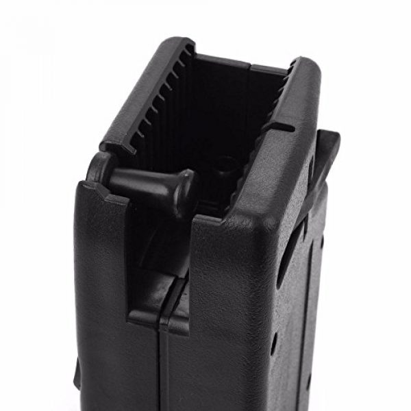 OAREA Airsoft BB Speed Loader 3 Oarea 1000rd Rounds Plastic BB Speed Loader M4 Hand Crank for Airsoft Paintball Military Quick Loader Hunting Gun Magazine