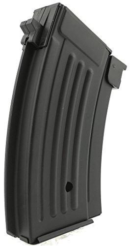 SportPro  5 SportPro CYMA 220 Round Metal Stubby High Capacity Magazine for AEG AK47 AK74 3 Pack Airsoft - Black