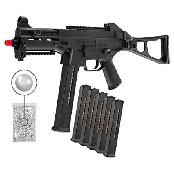 Wearable4U Airsoft Rifle 1 Umarex HK Heckler&Koch UMP Elite AEG Electric Gen2 Automatic 6mm BB Rifle Airsoft Gun with Wearable4U Bundle