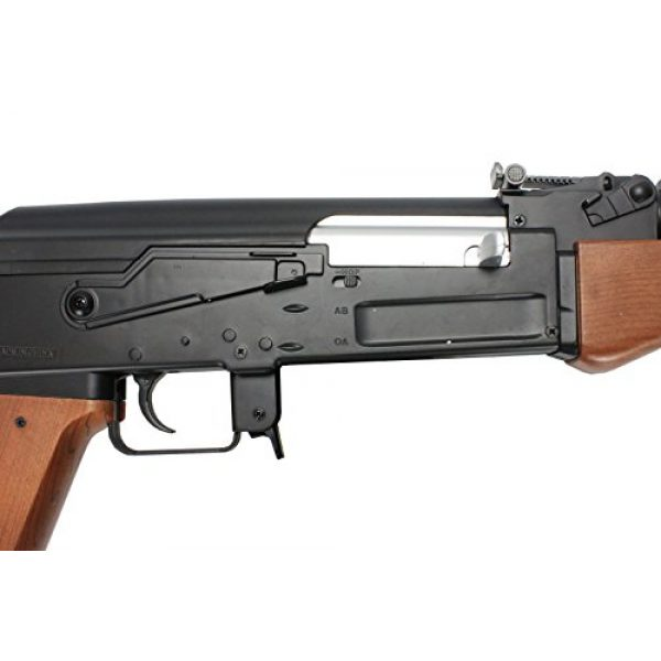 BBTac Airsoft Rifle 4 BBTac ak airsoft gun powerful spring full size assault rifle machine gun, large magzine, with BBTac warranty(Airsoft Gun)
