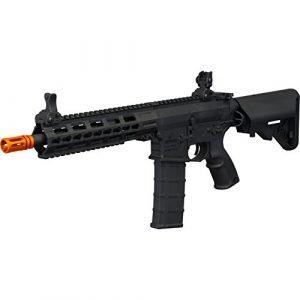 Tippmann Airsoft Airsoft Rifle 1 Tippmann Tactical Commando AEG CQB 10.5in Airsoft Rifle Black