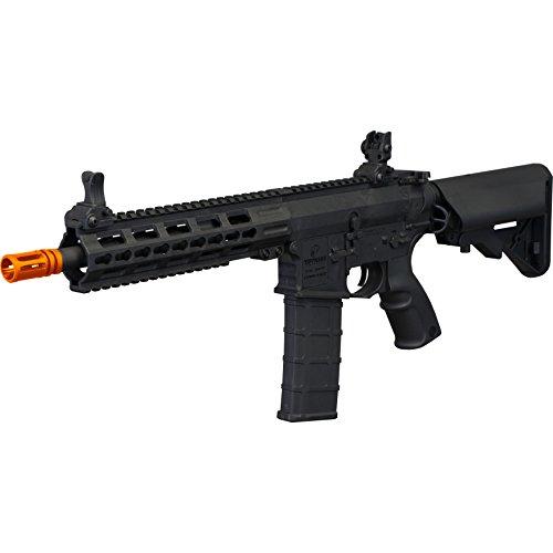 Tippmann Airsoft  1 Tippmann Tactical Commando AEG CQB 10.5in Airsoft Rifle Black