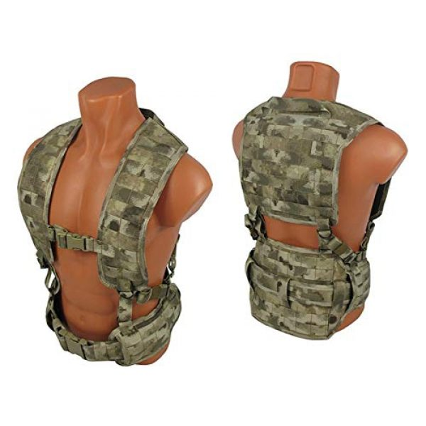 tactic.world Airsoft Tactical Vest 1 MOLLE Modular Tactical Chest rig Vest Airsoft Paintball