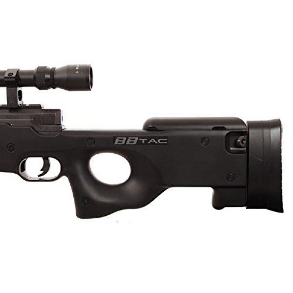 BBTac Airsoft Rifle 7 BBTac b96 awp airsoft sniper rifle with 3-9x40 scope and bi-pod warrior 1(Airsoft Gun)