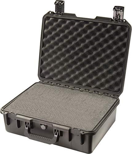 Pelican Pistol Case 3 Pelican Hardigg Storm iM2400 Case With Foam (Black), One Size (IM2400-00001)