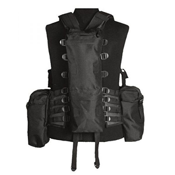 Mil-Tec Airsoft Tactical Vest 1 Mil-Tec 12-Pocket Tactical Vest (Black)