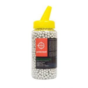 GoldenBall Airsoft BB 1 GoldenBall 0.25g MaxSlick Seamless Airsoft Tracer BBS - 2000rd Bottle