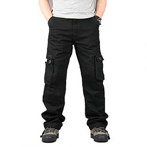 Raroauf Tactical Pant 1 Men's Military Tactical Pants Casual Cargo Pants Combat Trousers with Multi-Pocket