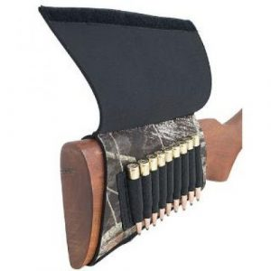AA&E Leathercraft  1 AA&E Leathercraft 8600245-393 Mossy Oak Breakup Neoprene Butt Stock Rifle Shell Holder