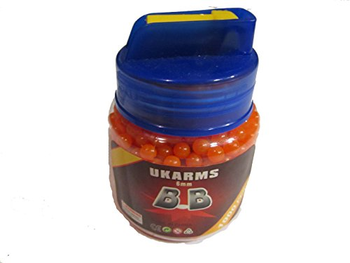 UKARMS Airsoft BB 1 6mm BB's Ammo for Airsoft Guns 1000 pieces