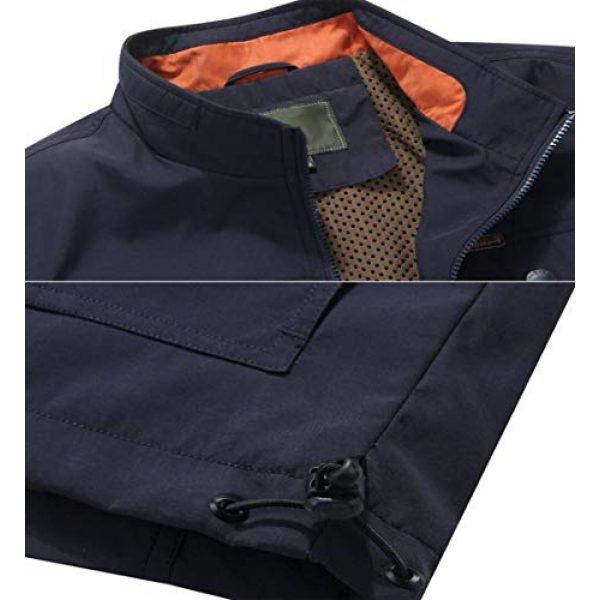 DAFREW Airsoft Tactical Vest 7 DAFREW Men's Casual Vest Multi-Pocket Vest Outdoor Fishing Photography Vest Grid Vest (Color : Royal Blue, Size : M)