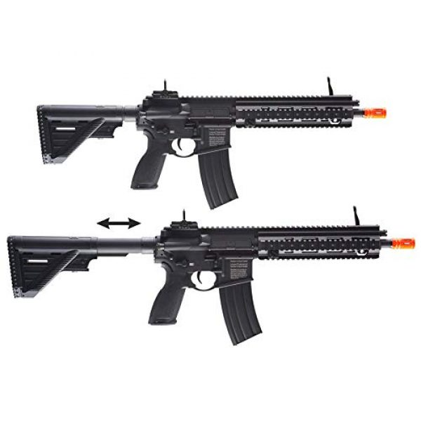Wearable4U Airsoft Rifle 6 Umarex Elite Force HK Heckler & Koch 416 A5 AEG Electric Automatic 6mm BB Rifle Airsoft Gun with Wearable4U Bundle