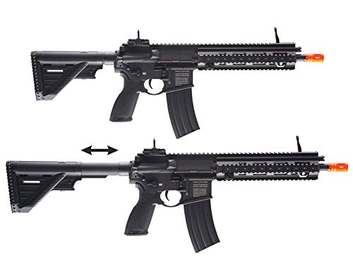 Wearable4U  6 Umarex Elite Force HK Heckler & Koch 416 A5 AEG Electric Automatic 6mm BB Rifle Airsoft Gun with Wearable4U Bundle