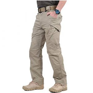 CARWORNIC Tactical Pant 1 Gear Men's Assault Tactical Pants Lightweight Cotton Outdoor Military Combat Cargo Trousers