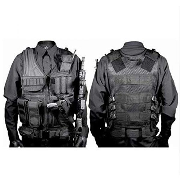 BGJ Airsoft Tactical Vest 6 BGJ Military Equipment Tactical Vest Airsoft Vest war Game Army Training Paintball Combat Protective Vest SWAT Fishing Police Vest
