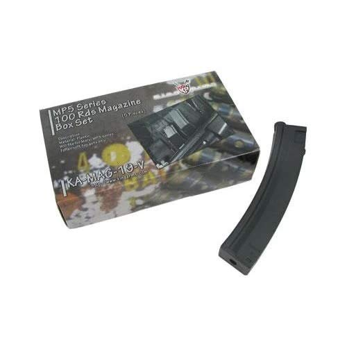 King Arms  1 King Arms PDW 100rd Magazine 5-Pack
