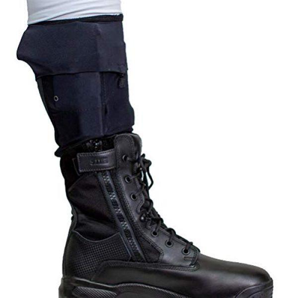 Cheata Airsoft Gun Holster 1 Cheata Tactical Gun Sox Black Leg Holstering System
