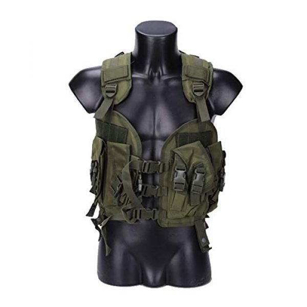Shefure Airsoft Tactical Vest 4 Shefure The Seal Men Tactical Hunting Armor Vest Combat CS Wargame Military Camouflage Waterproof Water Bag Pouches Tactical Gear