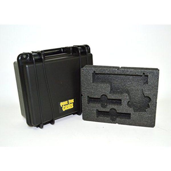 Quick Fire Cases Pistol Case 2 Quick Fire Cases QF300G2L Pistol Case, Black, Small