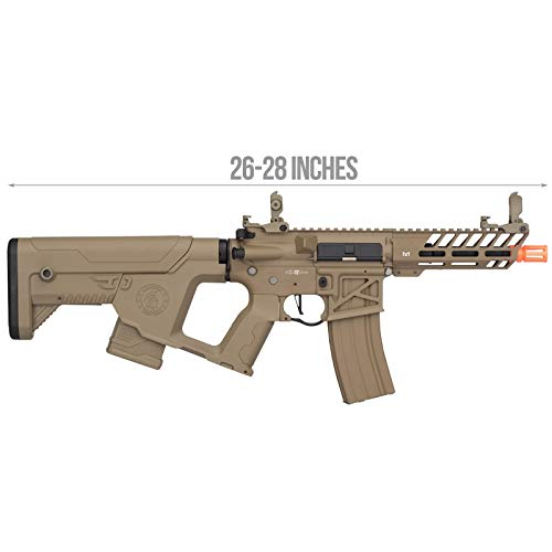 Lancer Tactical  2 Lancer Tactical Enforcer NEEDLETAIL Skeleton AEG Low FPS TAN