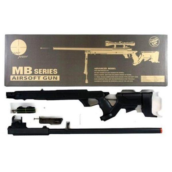 Well Airsoft Rifle 7 510 fps airsoft sr22 full metal type 22 sniper rifle(Airsoft Gun)