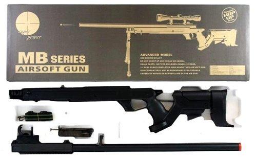 Well  7 510 fps airsoft sr22 full metal type 22 sniper rifle(Airsoft Gun)