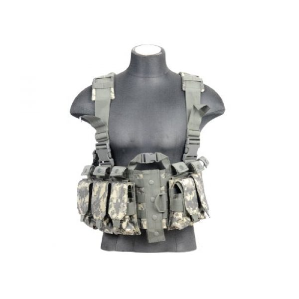 Lancer Tactical Airsoft Tactical Vest 2 Lancer Tactical CA-306A M4 Chest Harness in ACU