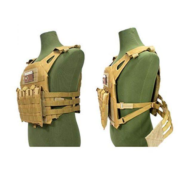 HWZ Airsoft Tactical Vest 5 HWZ Tactical Vest Combat Vest Outdoor Multi-Function CS Field EVA Thick Guard Vest