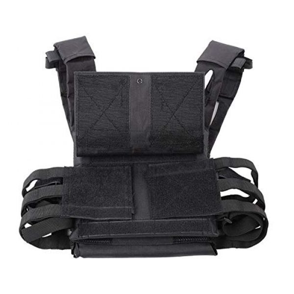 BGJ Airsoft Tactical Vest 4 Tactical Vest Hunting Body Armor Molle Plate Carrier Vest Outdoor Paintball Airsoft Vest Military Equipment