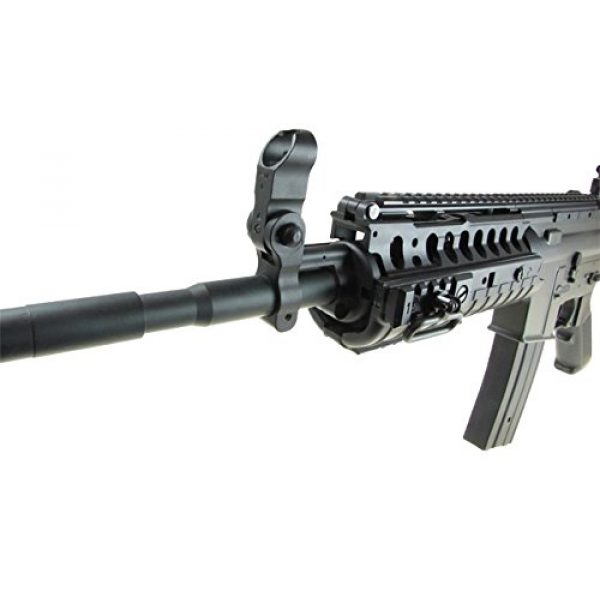 Jing Gong (JG) Airsoft Rifle 7 JG M4 RIS System with Rifle Scope Sniper Airsoft Gun 500 FPS