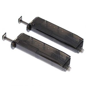 Generica Airsoft BB Speed Loader 1 Generica Airsoft Spare Parts 2pcs CYMA Pistol Magazine Shape 90rd Speed BB Loader