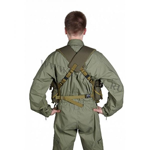 SSO/SPOSN Airsoft Tactical Vest 2 SSO/SPOSN Russian Military Lazutchik M Bags for Breast (Military Vest)