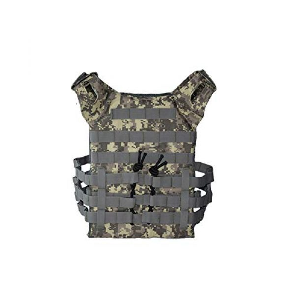 PJKKawesome Airsoft Tactical Vest 3 Chest Vest Airsoft Chest Protector Vest Outdoor Sports Body Armor for Outdoor Activities Free Size Multicolor