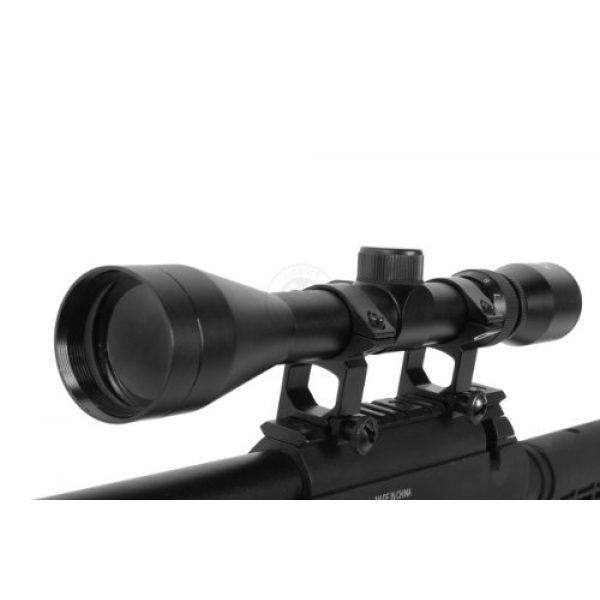 BBTac Airsoft Rifle 6 Wellfire aps sr-2 modular airsoft sniper rifle - scope & bipod - black(Airsoft Gun)