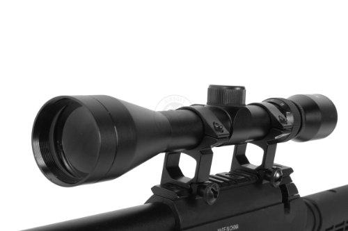 BBTac  6 Wellfire aps sr-2 modular airsoft sniper rifle - scope & bipod - black(Airsoft Gun)