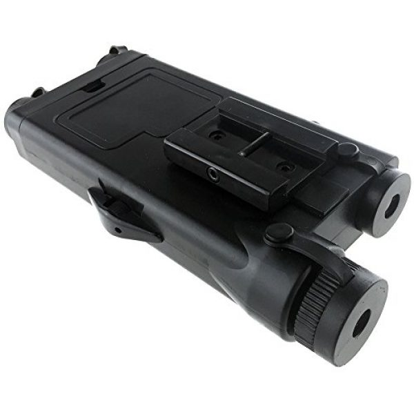 SportPro Airsoft Battery Box 5 SportPro Dboys Polymer PEQ-II Style Dummy Battery Box Type B for AEG Airsoft - Black