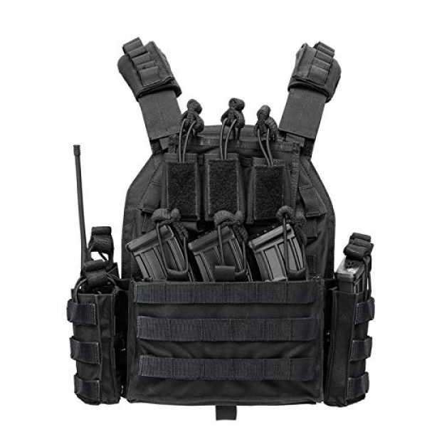 vAv YAKEDA Airsoft Tactical Vest 1 vAv YAKEDA Outdoor Tactical Military Vest Airsoft Vest for Men