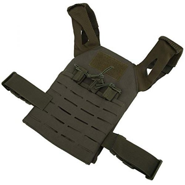 Demeras Airsoft Tactical Vest 7 Demeras Multifunctional Tactics Vest Lightweight Thick Outdoor Vest for Kids