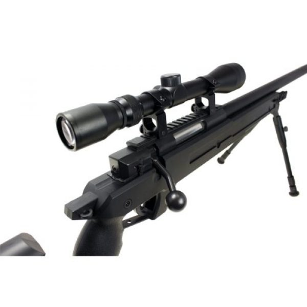 Well Airsoft Rifle 3 Well awn aps2 spring sniper airsoft rifle w/ bi-pod & scope(Airsoft Gun)