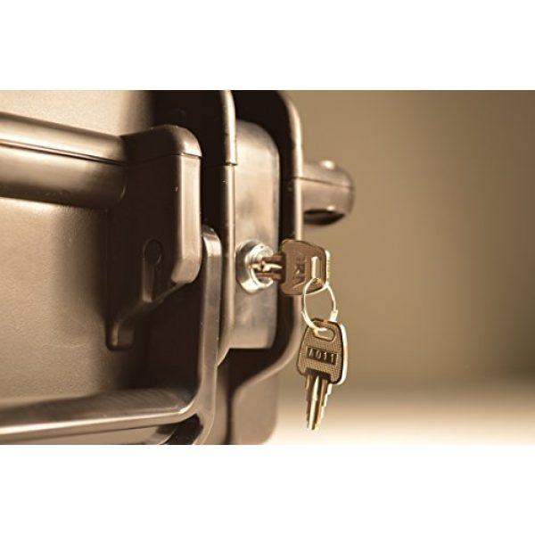 Quick Fire Cases Pistol Case 3 Quick Fire Cases QF300G4L Pistol Case, Black, Small