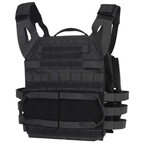 DETECH Airsoft Tactical Vest 1 DETECH Molle Adaptive Vest JPC Tactical Hunting Airsoft Vest Multicam Black